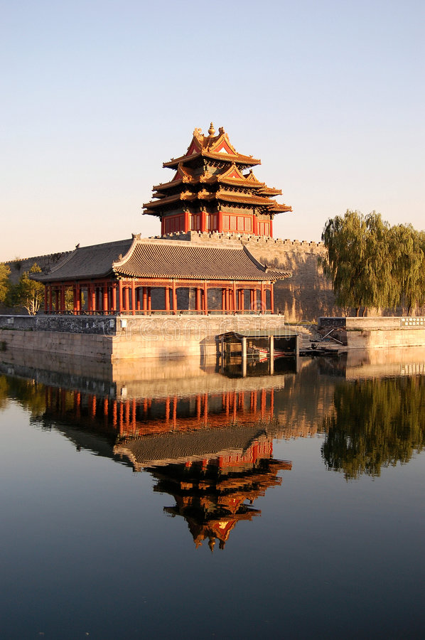 Download Turret, Forbidden city stock image. Image of forbidden - 5282515
