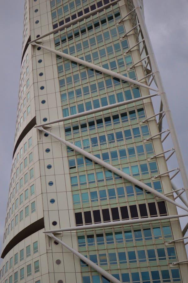 Turso de rotation Malmö Suède photos libres de droits