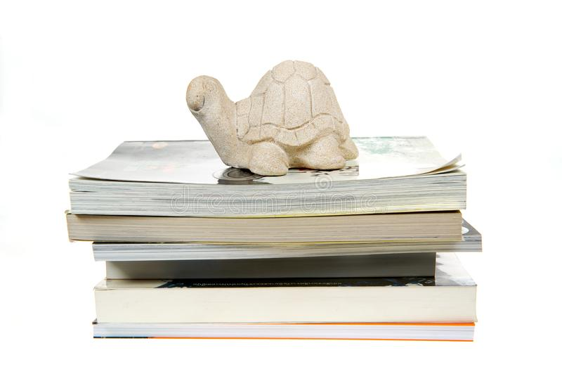 Download Turtle stock image. Image of paper, imitation, reading - 16410971