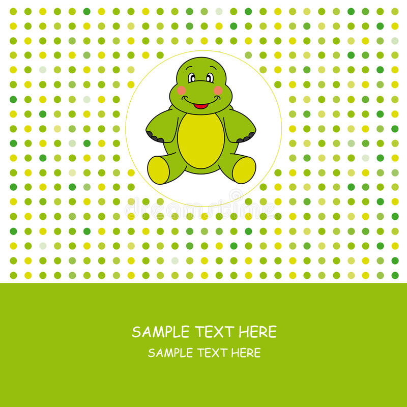 Download Turtle stock vector. Image of gift, happiness, celebration - 19172691