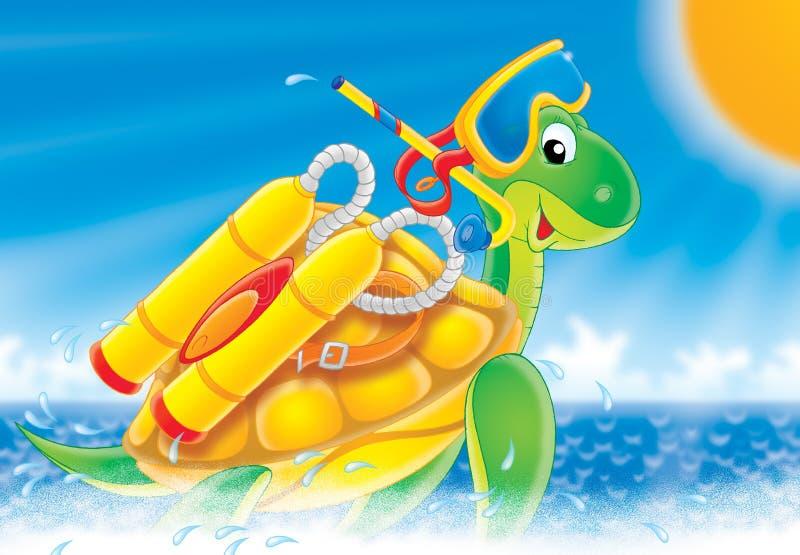 Turtle royalty free illustration