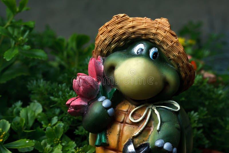 Download Turtle stock image. Image of garden, gardening, orange - 25427793