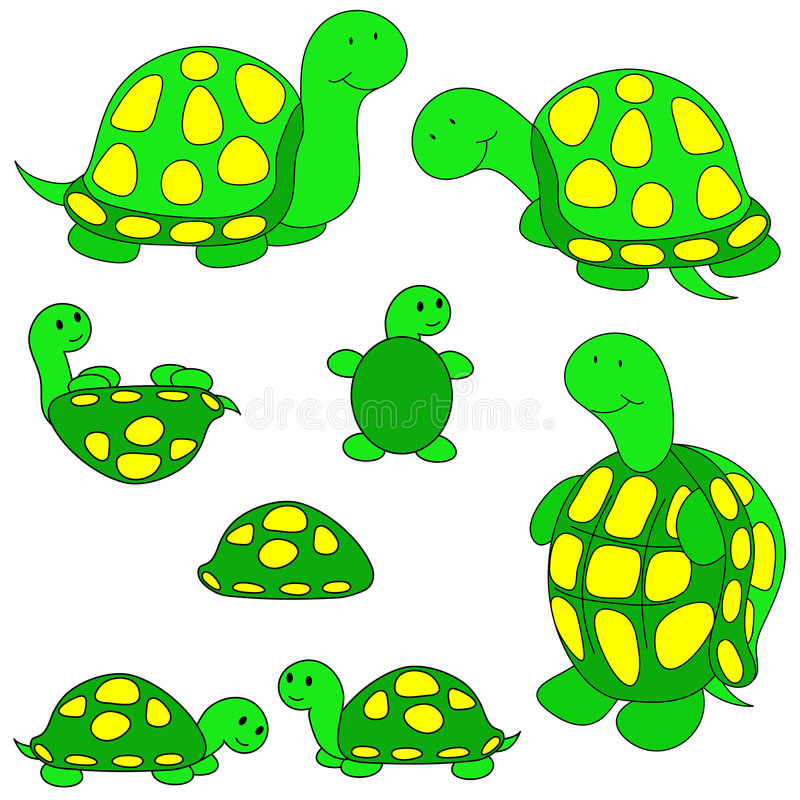 turtle clip art stock illustration illustration of positions 3357820 rh dreamstime com turtle clip art images free turtle clip art images free