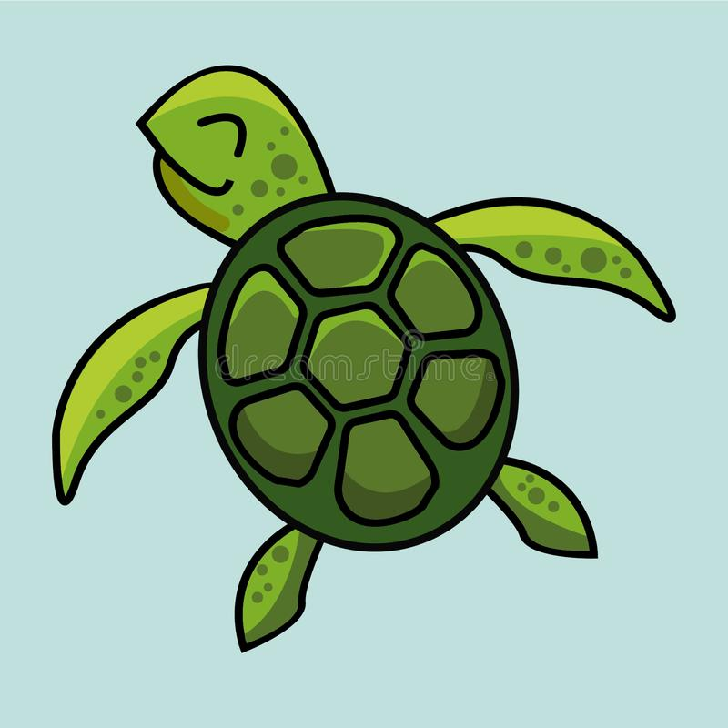 Free Turtle Doodle Vector Image Stock Images - 144663794