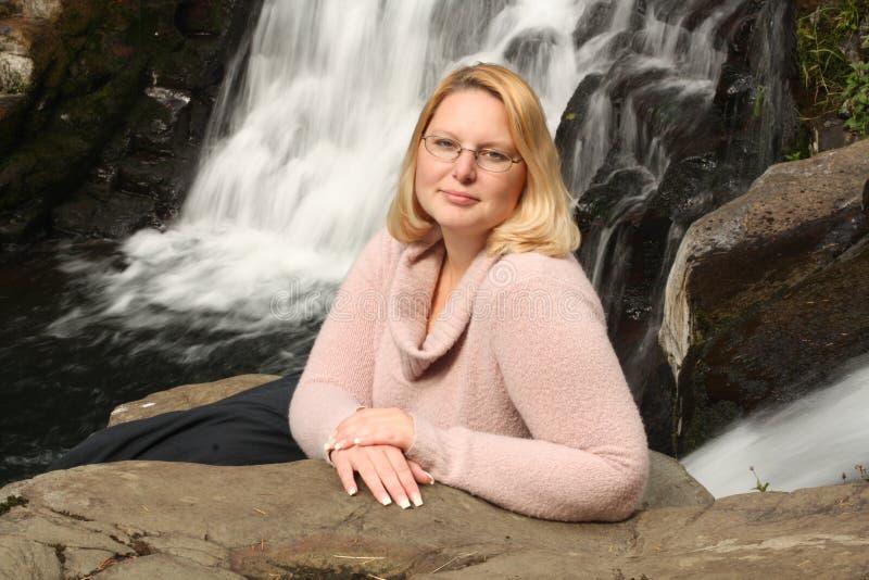 Turtle Falls stock photo
