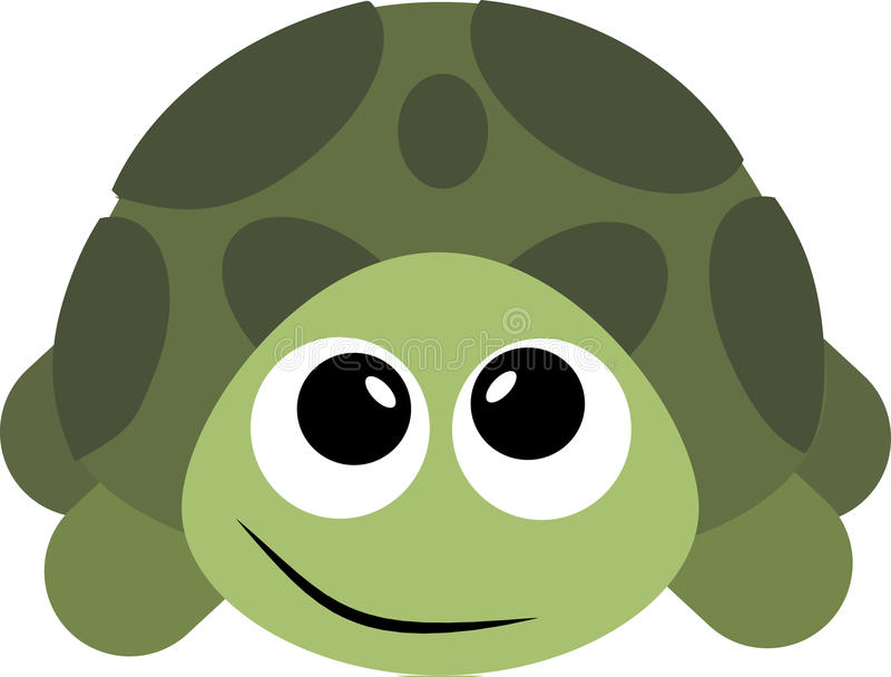 Turtle. Image of an . stock illustration