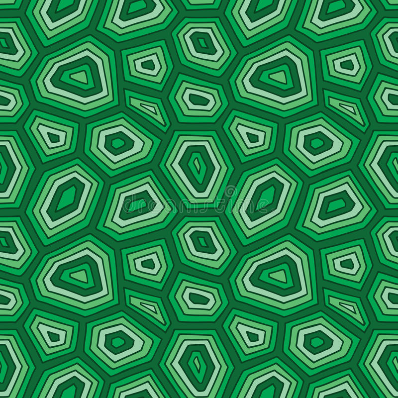 Turtle shell pattern. stock vector. Illustration of doodle ...