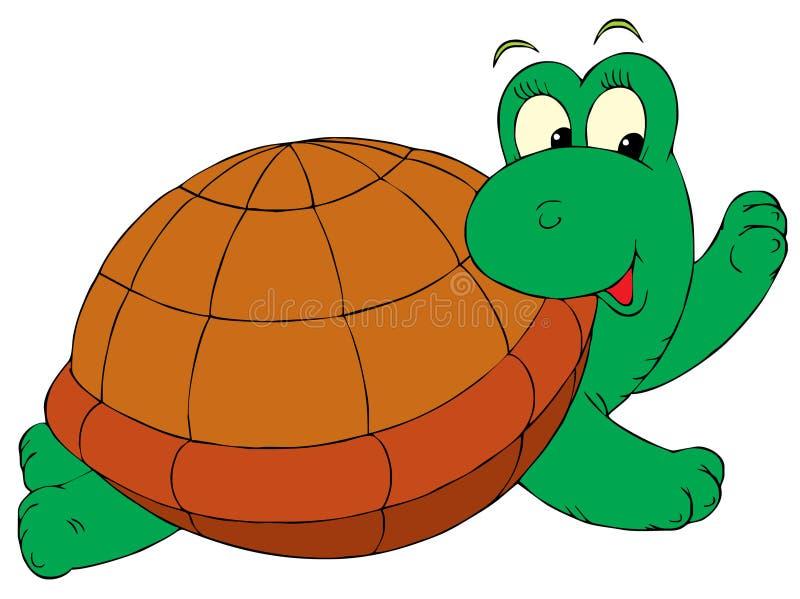 Turtle (vector clip-art) vector illustration