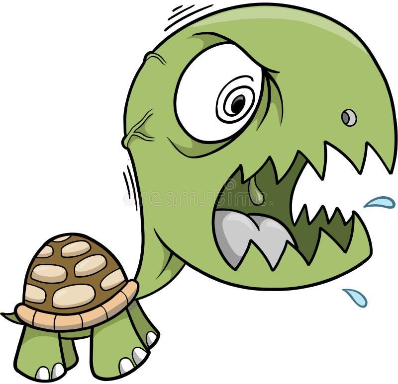 Download Turtle Vector Illustration stock vector. Image of safari - 4335895