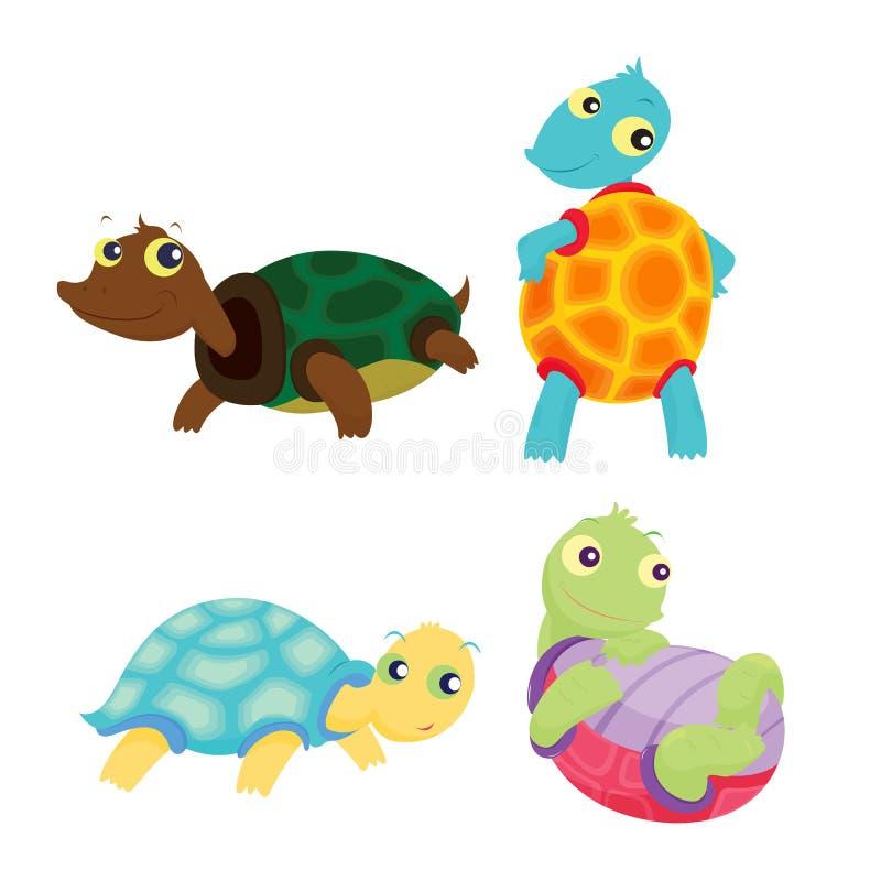 Download Turtles stock illustration. Illustration of shell, animal - 7331110