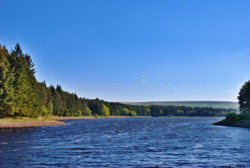 Turton & Reservoir Entwistle stock afbeeldingen