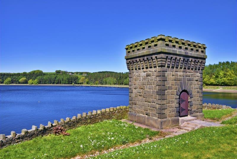 Turton Vorratsbehälter-Kontrollturm stockbilder