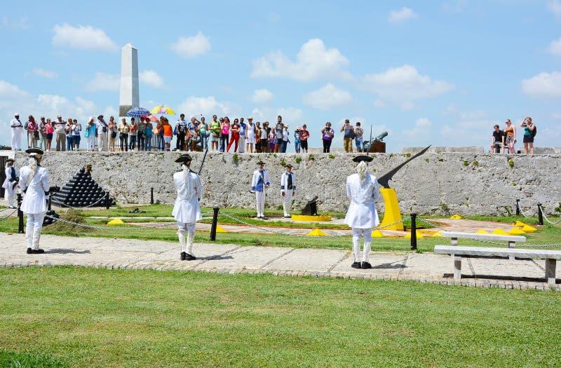 Turyści przy losu angeles Cabana obrazy stock