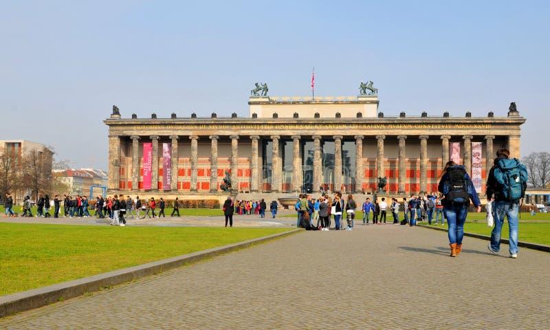 Turyści w Berlin, Niemcy obrazy stock