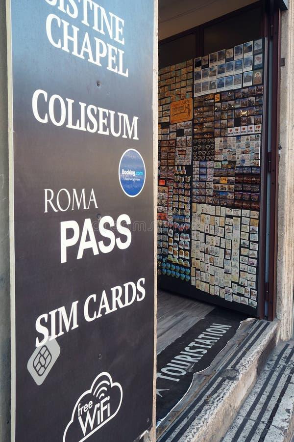Turysta stacja w Rzym, Włochy obraz stock