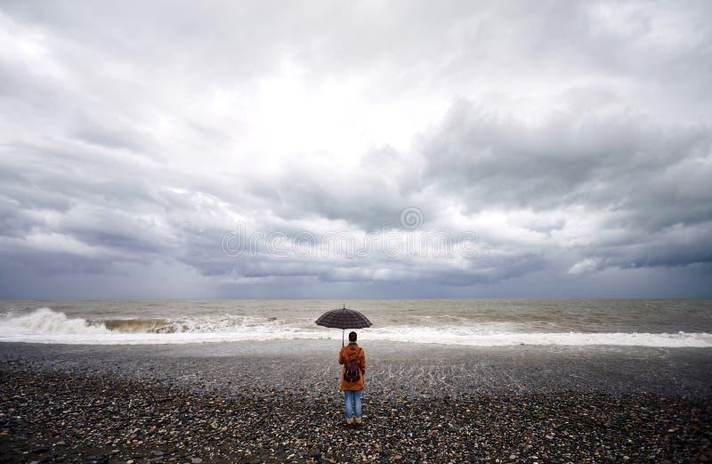 Turysta w Batumi fotografia stock