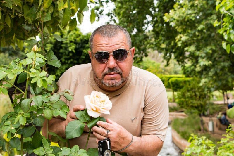 Turysta w podróży wewnątrz przez Maroko zdjęcie royalty free