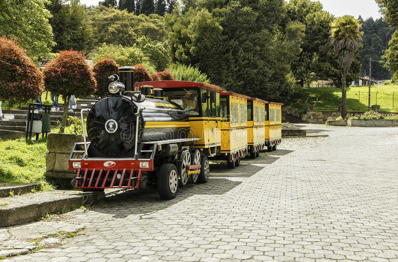 Turystyczny pociąg zdjęcie stock