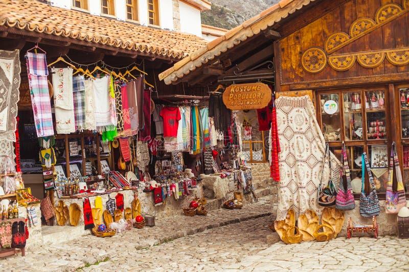 Turystyczny zwiedzający miejsce przeznaczenia w Albania obraz stock