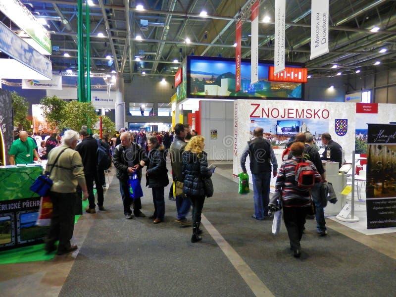 Turystyka jarmark w Brno zdjęcia royalty free