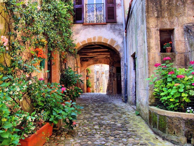 Tuscan πάροδος στοκ φωτογραφίες με δικαίωμα ελεύθερης χρήσης