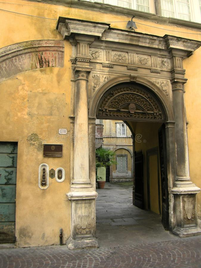 Free Tuscan Arch Lucca Italy Stock Image - 11660731