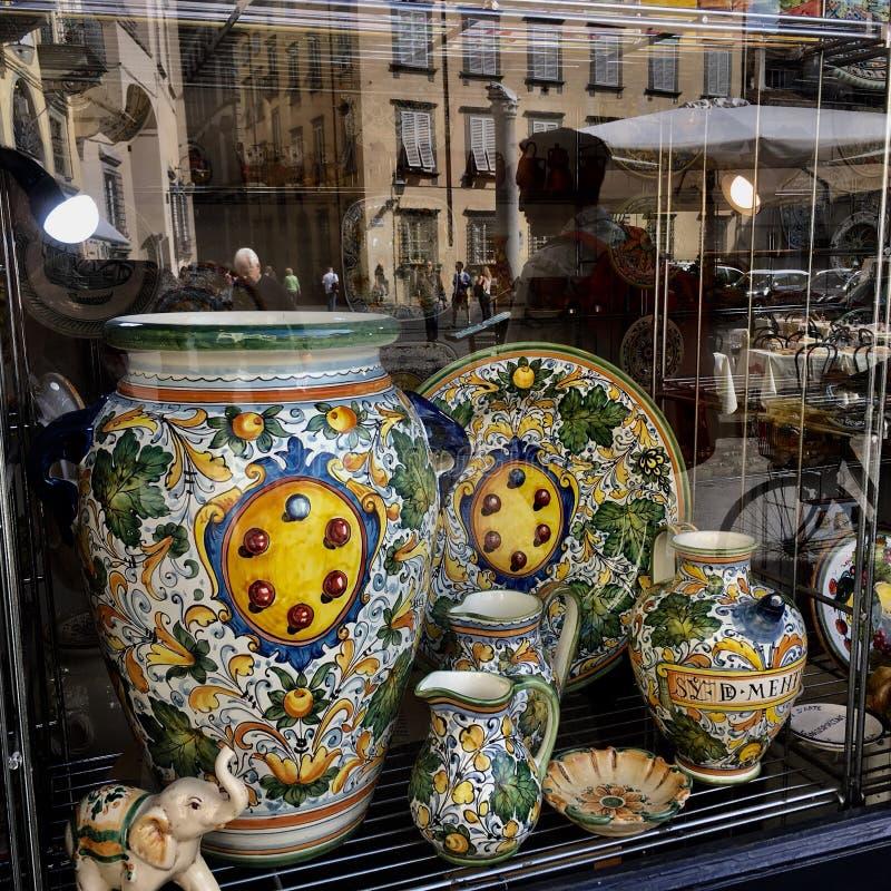 Tuscan cerâmico imagens de stock royalty free