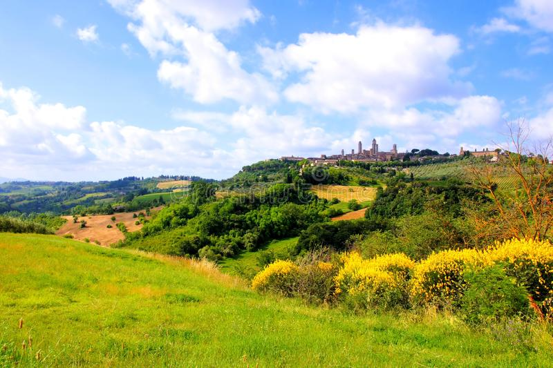 Download Tuscan countryside stock photo. Image of landscape, rural - 38085364