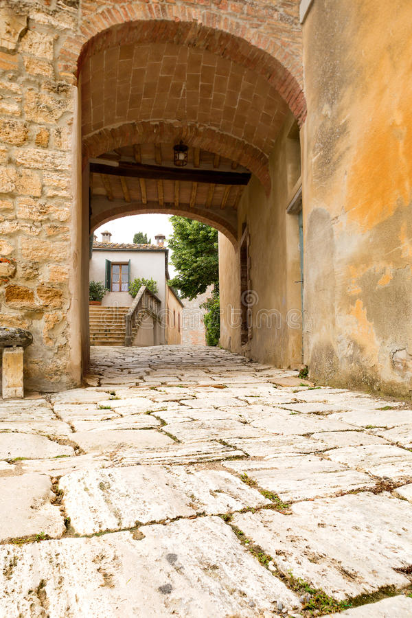 Download Tuscan doorway stock image. Image of town, ancient, italy - 25456373
