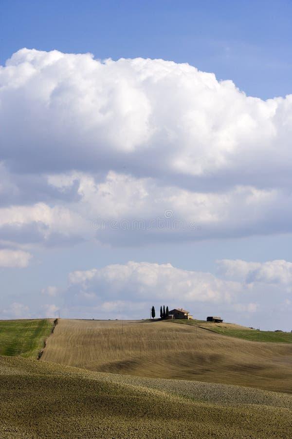 Free Tuscan Landscape, Isolated Farm Royalty Free Stock Photo - 6632135