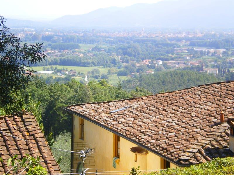 Tuscan Lucca home Toscânia Italy foto de stock royalty free
