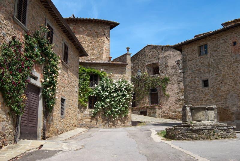 Tuscan village royalty free stock photos