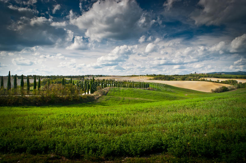 Download Tuscany stock photo. Image of countryside, background - 27169246