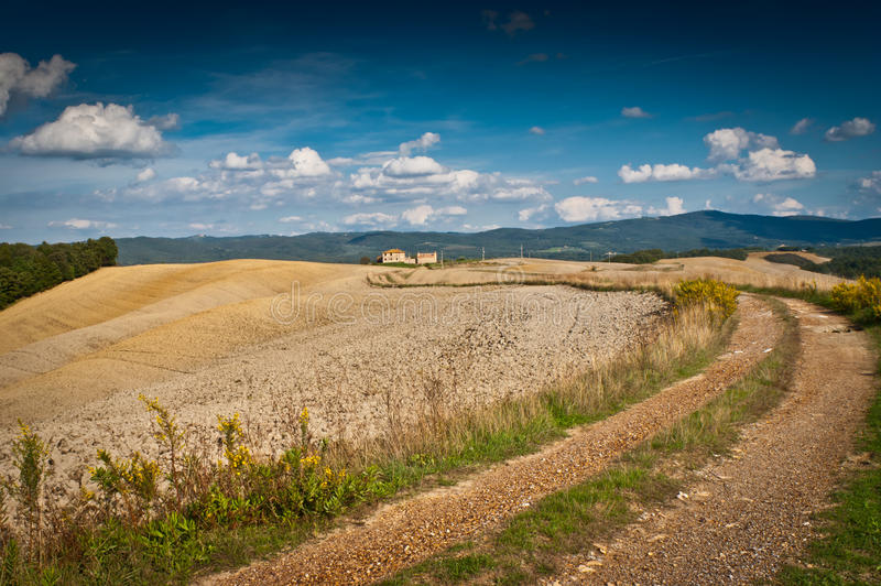 Download Tuscany stock image. Image of road, rural, light, hillside - 27366911