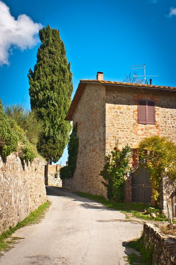 Download Tuscany stock image. Image of tuscany, scene, road, holding - 27915705