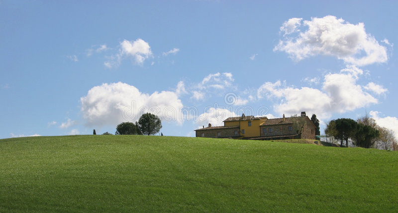 Download Tuscany stock image. Image of farm, firmament, idyllic - 5210293