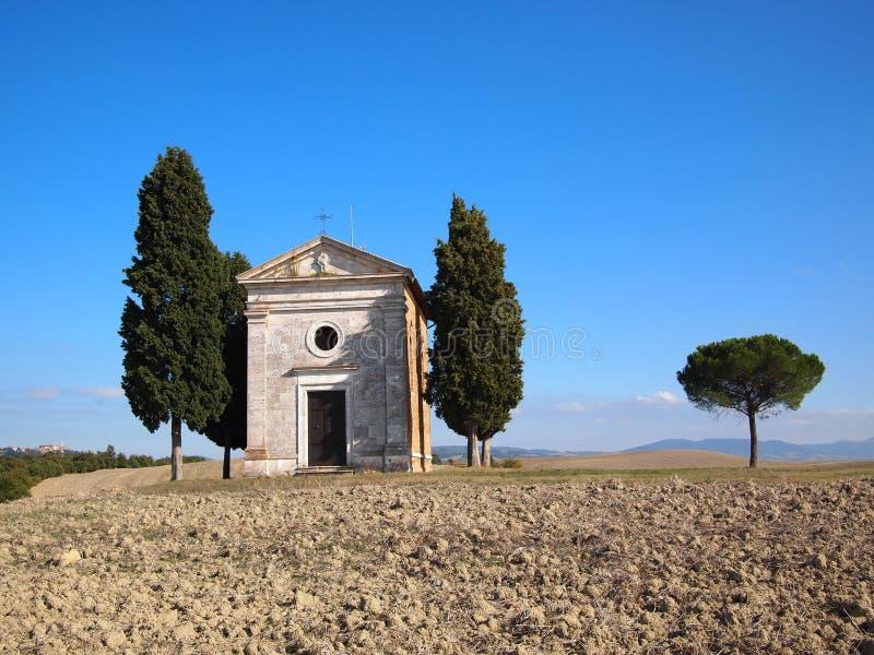 Tuscany chapel royalty free stock photos