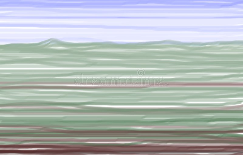 Download Tuscany in colours stock illustration. Image of hills - 4599479