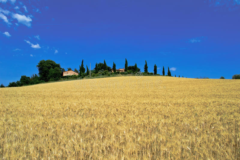 Tuscany Country house stock image