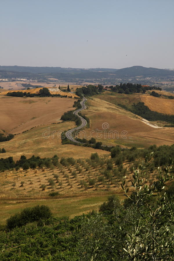 Tuscany countryside royalty free stock photography