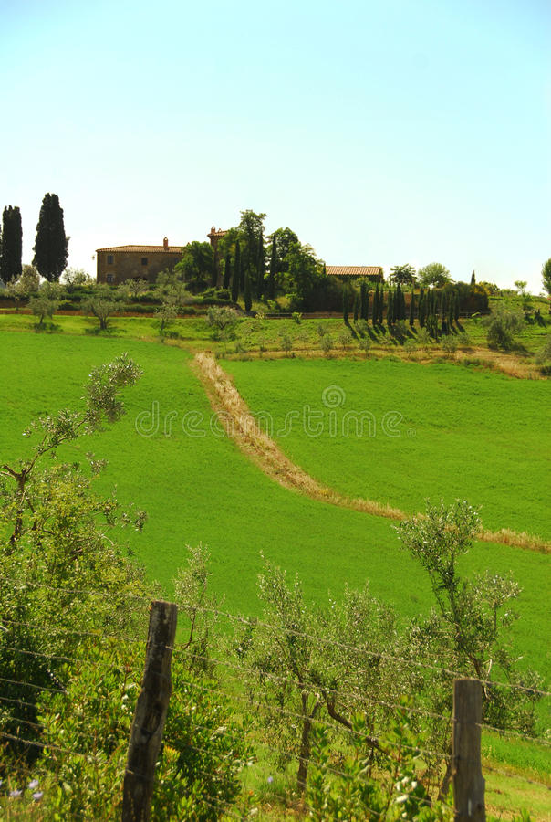 Tuscany Countryside stock image