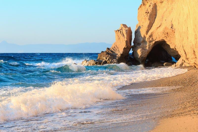 Tropea beach, Calabria, Italy stock images