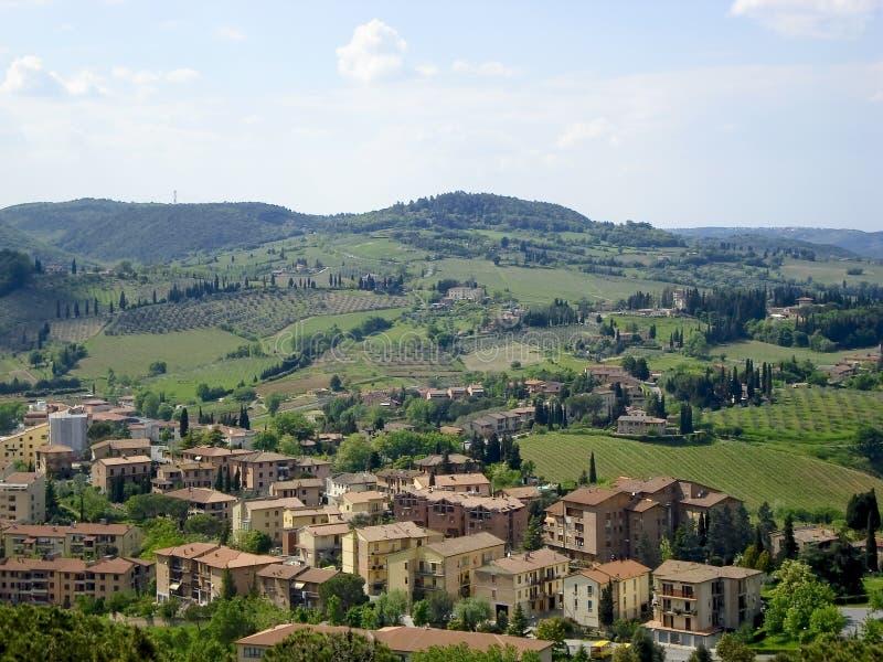 Tuscany countyside royalty free stock image