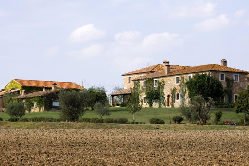 Tuscany Estates Stock Photo
