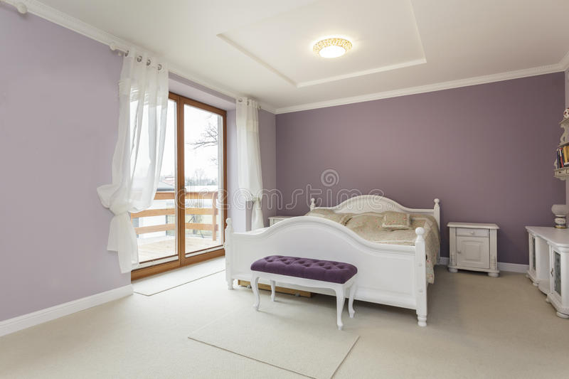 Tuscany - Bedroom Stock Images