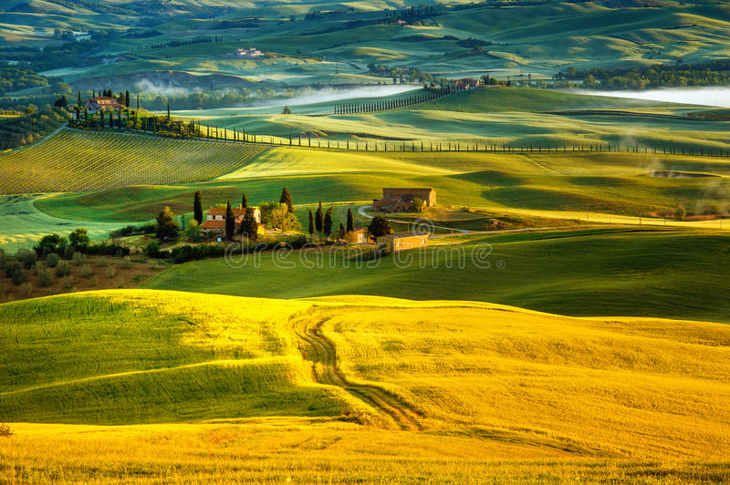 Tuscany - Italy stock photo