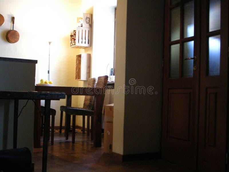 Tuscany kitchen royalty free stock photography