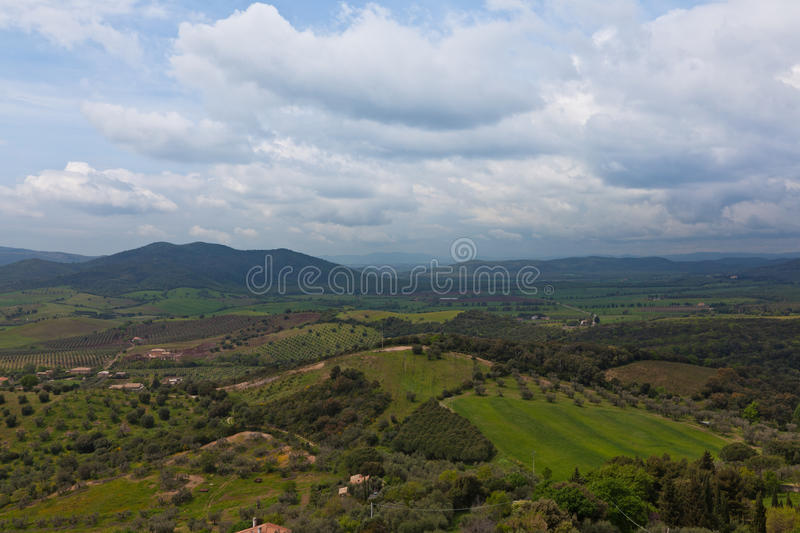 Download Tuscany Landscape Royalty Free Stock Image - Image: 24364436