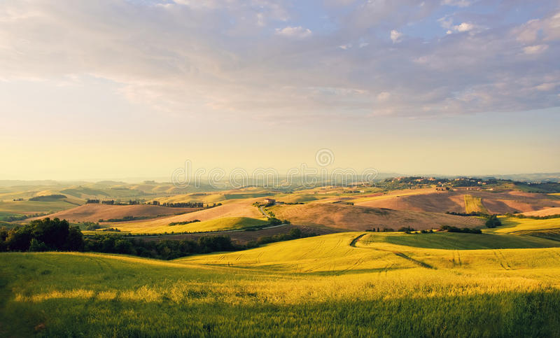 Download Tuscany landscape stock image. Image of italian, farmland - 29200133
