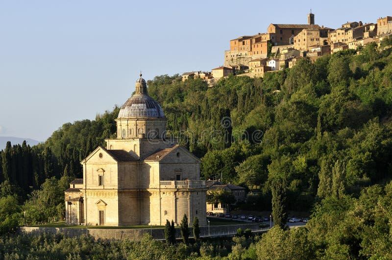 Tuscany liggande royaltyfri foto